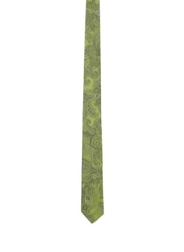 Etro Etro  Etnik Desenli İpek Kravat 101552529 Yeşil